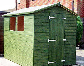Webbs Forest Furniture Collection Of Rustic Garden Sheds